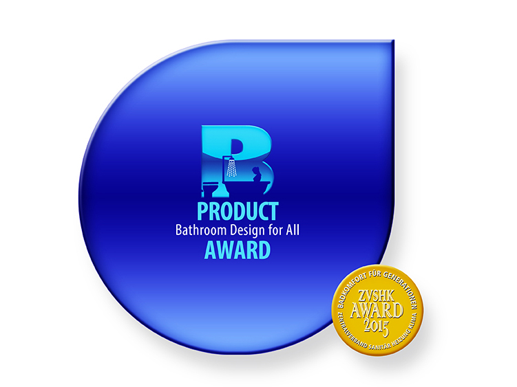 Logo of the event with the text Product Bathroom Design for All Award