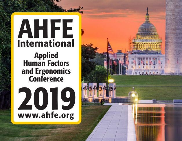 AHFE 2019 4th International Conference on Design for Inclusion in Washington D.C.